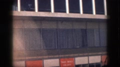 1961: building office like windows huge woody HAWAII Stock Footage