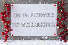Label, Snowflakes, Decoration, Weihnachten Means Christmas Kuvituskuvat