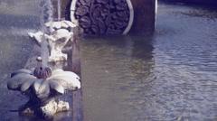 Aqua in waterworks Stock Footage