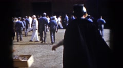 1958: getting ready for the corporate celebration. VIRGINIA Stock Footage