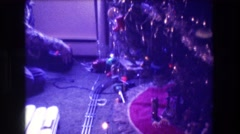 1973: festivities of christmas morning. MEDFORD NEW JERSEY Stock Footage