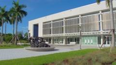 Florida Panthers at FIU video Stock Footage