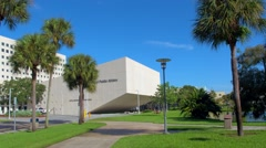 Nature landscape at FIU Stock Footage