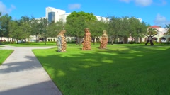 Arts at Florida International University Stock Footage