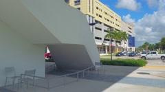Scene at FIU Miami Stock Footage