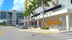 Campus Drive at FIU Stock Footage