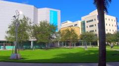 Motion video of Florida International University Stock Footage