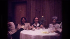 1974: a happy party it sure is. BOSTON Stock Footage