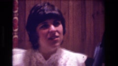 1974: the amazing astonishing wedding BOSTON Stock Footage