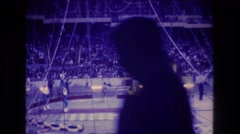 1974: carnival and clowns BOSTON Stock Footage