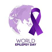 World epilepsy day. Stock Illustration