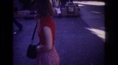 1977: visitor entering the state of hawaii. HONOLULU HAWAII Stock Footage
