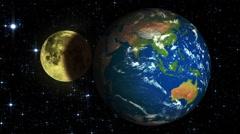 Lunar eclipse Stock Footage