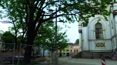 St. Michael Archangel's Church, Kaunas, Lithuania Stock Footage