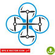 Drone Screws Vector Eps Icon Stock Illustration