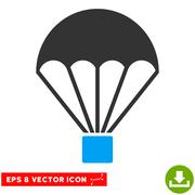 Parachute Vector Eps Icon Piirros