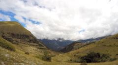 Timelapse Apennines Apennine Mountains, Monti Sibillini National Park, Italy, 4k Stock Footage