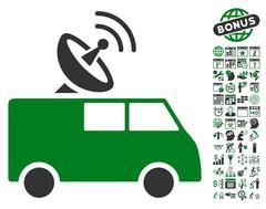 Radio Control Car Icon With Bonus Piirros