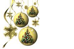 Christmas. Christmas decoration - 3D illustration Stock Illustration