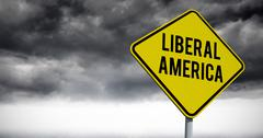 Composite image of liberal america Stock Photos