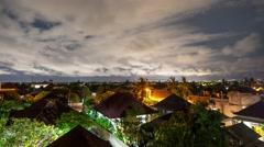 Bali timelapse 4k Stock Footage