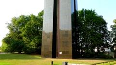 Carillon in Berlin-Tiergarten, Germany Stock Footage
