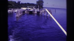 1967: a casual day out on the ocean. OTTAWA CANADA Stock Footage