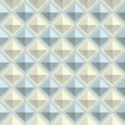 Texture diamond plate seamless. Metal or plastic material. Corrugated steel Stock Illustration