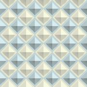 Texture diamond plate seamless. Metal or plastic material. Corrugated steel Stock Illustration