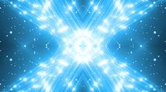 VJ Lights Blue Flashing Spot light. Stock Footage