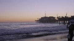 Santa Monica Pier, Los Angeles Arkistovideo
