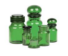 Apothecary bottles Stock Photos