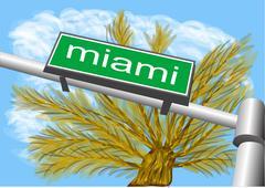 Miami south beach Piirros