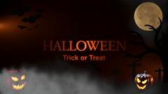 Halloween Trick or Treat Stock Footage