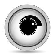 Volume control icon. Internet button on white background.. Stock Illustration