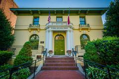The National Italian American Foundation Building, in Washington, DC. Stock Photos