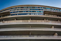 The Watergate Hotel in Washington, DC. Stock Photos