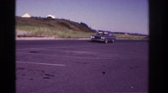 1967: a warm welcome to our new family car! ROCKAWAY BEACH NEW YORK Stock Footage