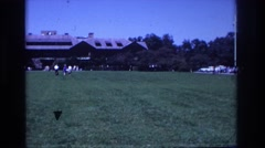 1968: park gathering. OCEAN CITY NEW JERSEY Stock Footage