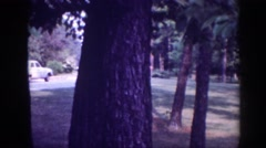 1963: viewing of homes set out in the country. MEMPHIS TENNESSEE Stock Footage
