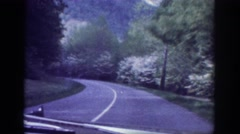 1963: on the road again MEMPHIS TENNESSEE Stock Footage