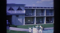 1963: panorama hotel viewing structure around MEMPHIS TENNESSEE Stock Footage