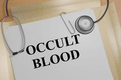 Occult Blood concept Stock Illustration