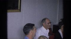1966: family gathering SACRAMENTO CALIFORNIA Stock Footage