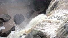 Praba waterfall in Phurua, Loei, Thailand Stock Footage