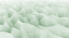 Light green abstract motion background for modern presentations and reports Stock Footage