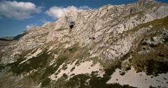 Aerial, Durmitor National Park, Montenegro - Graded and stabilized version. Stock Footage