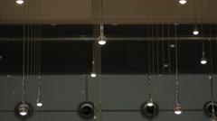 High Tech Skylight (Middle, Tilt Movement) Stock Footage