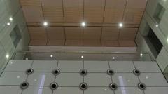 High Tech Design Skylight (Wide, Tilt Movement) Stock Footage