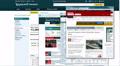 UHD 4K Financial internet surfing timelapse, 25 seconds 4k or 4k+ Resolution